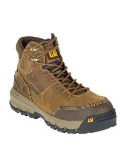 CAT Footwear Device Composite Toe - Dark Beige 14(M) Device Waterproof Composite Toe Mens Work Boot