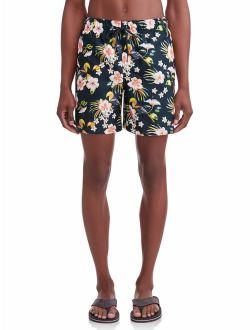 Men's Novelty 6-inch Swim Short, Up To Size 5xl