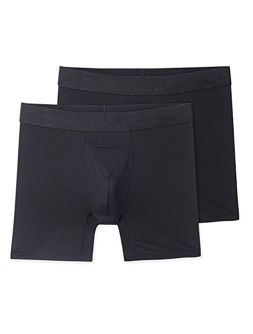 """Terramar Men's Silkskins 6"""" Boxer Briefs such as George Underwear"""