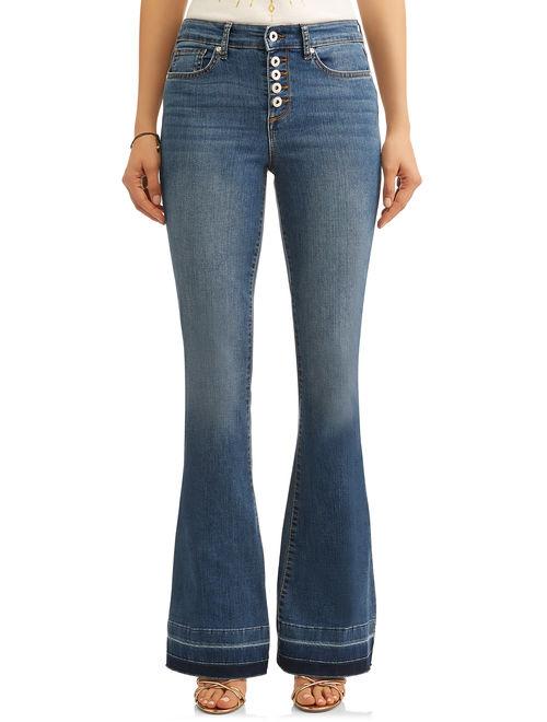 Melisa High Waist Stretch Flare Jean Women's (Medium)
