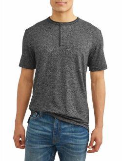 Men's Short Sleeve Fashion Henley T-shirt