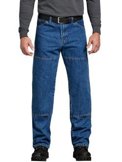 Men's Relaxed Fit Workhorse Double Knee Denim Jean