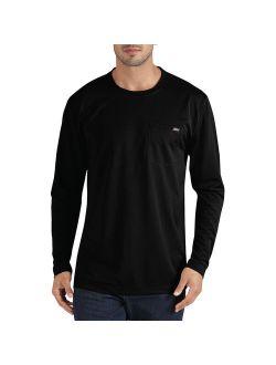 Big Men's Long Sleeve Performance Pocket T-Shirt
