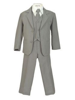 Avery Hill Boys Formal 5 Piece Suit with Shirt and Vest