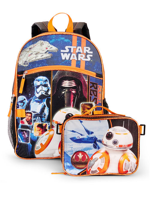 Star Wars Episode 7 BB-8 Backpack with Lunch Bag