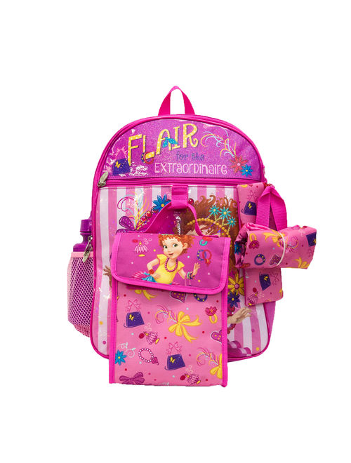 """Fancy Nancy """"Flair for the Extraordinaire"""" 5 pc Backpack Set"""
