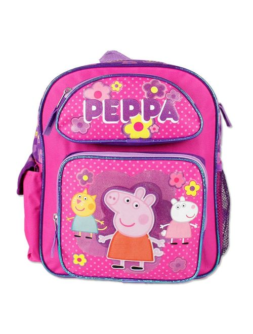 Small Backpack - - Pink School Bag New 107448
