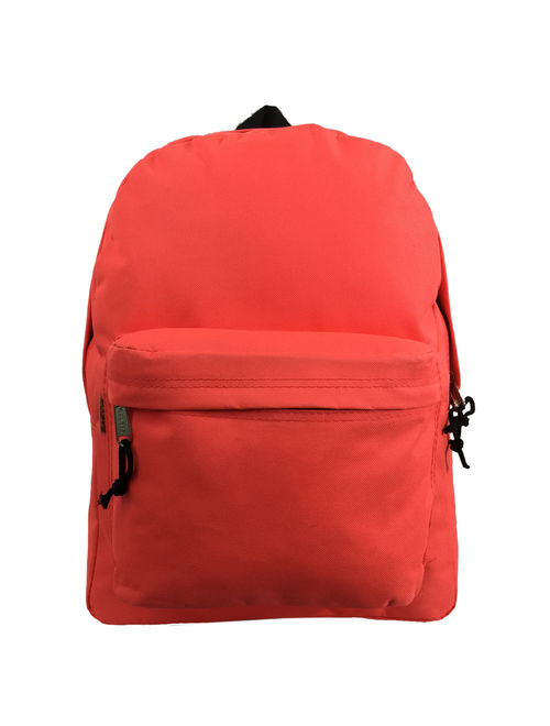 Wholesale 16.5 Inch Backpacks - Case of 16 Multicolored K-Cliffs Bulk School Bags