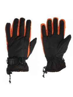 John Bartlett Statements Water Resistant Ski Winter Gloves For Men Insulated Work Gloves Cold Gear