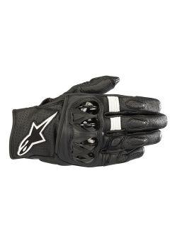 Alpinestars Celer V2 Mens Leather Gloves Black/White