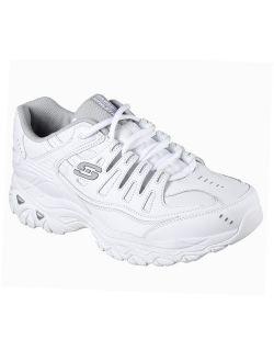 50127wht Men 's After Burn Memory Fit - Reprint Training Shoes