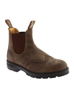 Men's 1471 Chelsea Boot, Rustic Brown Brogue, 11.5 D(m) Us/10.5 Uk