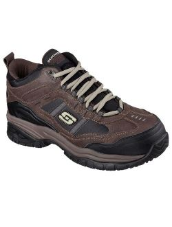 Work Men's Soft Stride Canopy High Top Athletic Composite Toe Safety Shoes