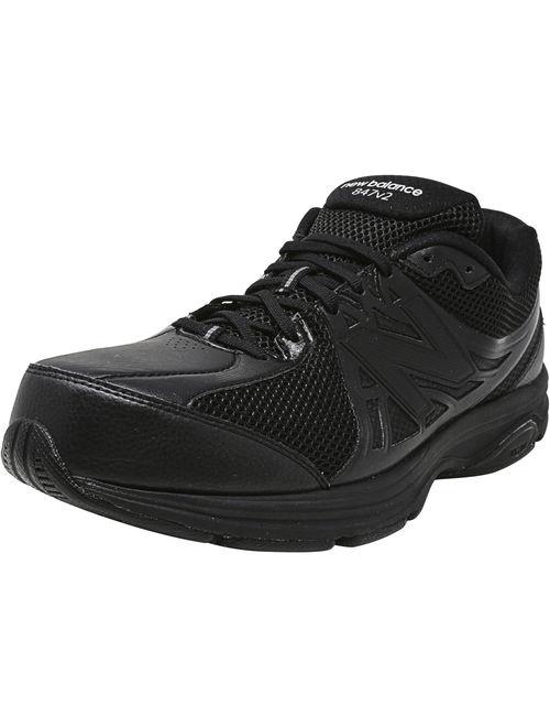 New Balance MW847 Walking Shoe - 7.5W - Bk2
