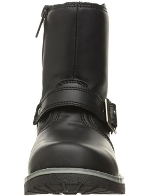 Crevo Girls Tanner Toddler Faux Leather Motorcycle Boots