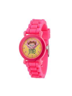 Toy Story 4 Gabby Gabby Girls' Pink Plastic Watch, 1-pack