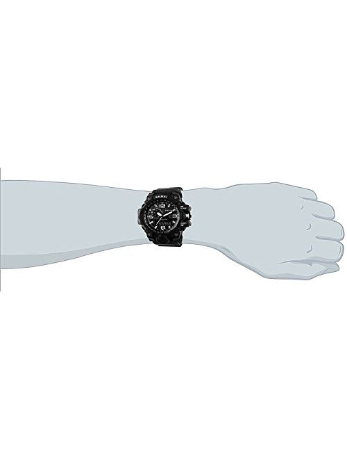S Shock Digital Quartz Watch, Multifunction, Dual Time & Date