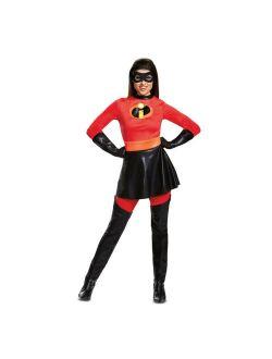 Womens Mrs. Incredible Skirted Deluxe Halloween Costume
