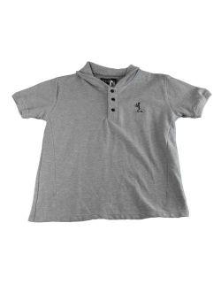 RELIGION Toddler Boy's Grey Short Sleeve Polo Shirt BT12CEO20 NEW