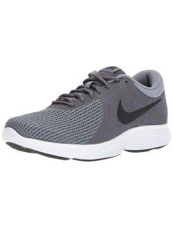 Men's Revolution 4 Running Shoe, Dark Black-cool Grey/white, 10 Regular Us