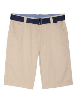 Chaps Flat Front Short with Belt (Little Boys & Big Boys)