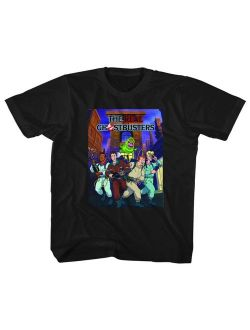 The Real Ghostbusters Animated TV Series Poster Toddler Little Boys T-Shirt Tee