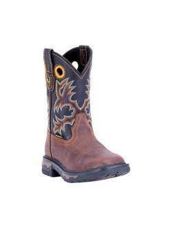 Children's Dan Post Boots Ridge Runner Round Toe Cowboy Boot DPC3690