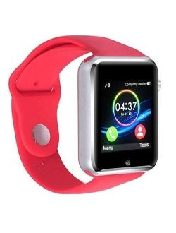 Premium Red Bluetooth Smart Wrist Watch Phone mate for Android Touch Screen Blue Tooth Smart Watch with Camera for Adults for Kids (Supports [does not include] SIM+MEMORY