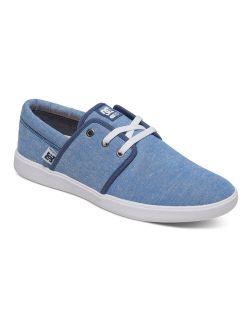 Women's Haven Tx Se Sneakers Blue Textile 6 B