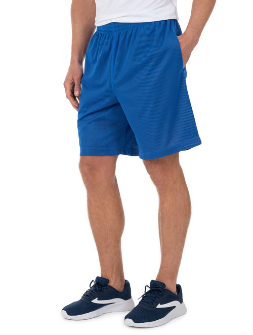 Athletic Works Men's Active Performance Grid Mesh Short