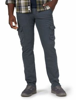 Men's Regular Tapered Cargo Pant With Stretch