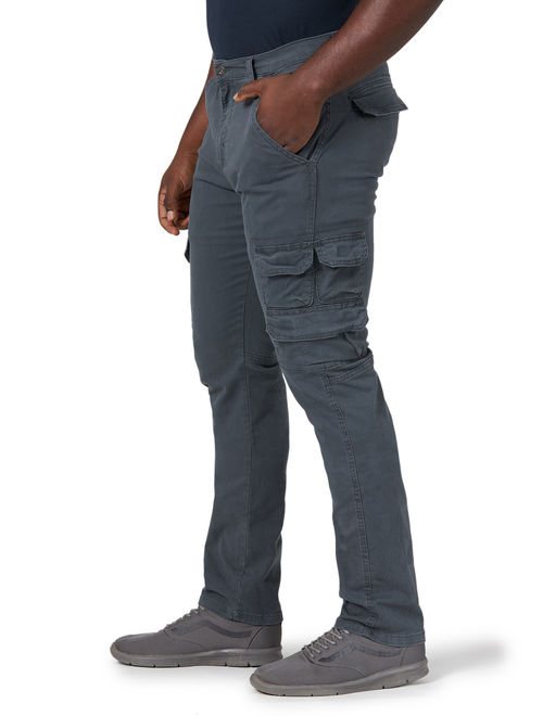 Wrangler Men's Regular Tapered Cargo Pant with Stretch