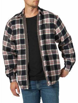 Men's Long Sleeve Heavyweight Shirt Jacket