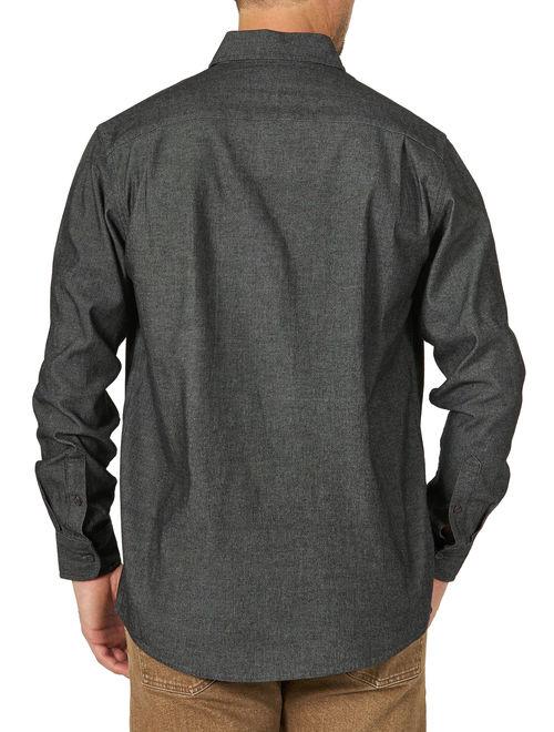 Wrangler Men's Long Sleeve Denim Shirt