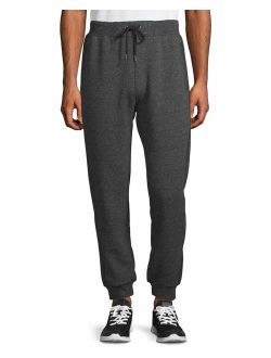 Men's Sherpa Lined Sweatpants Jogger, Up To Size 2xl