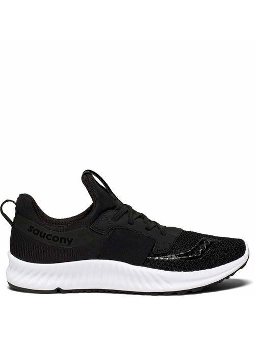 Saucony Men's Guide ISO Running Shoe, Navy/red,
