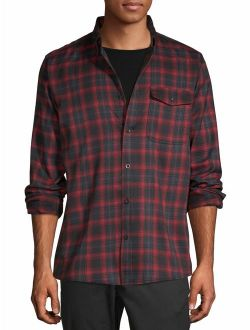 Men's Premium Outdoor Long Sleeve Plaid Flannel, Up To 5xl