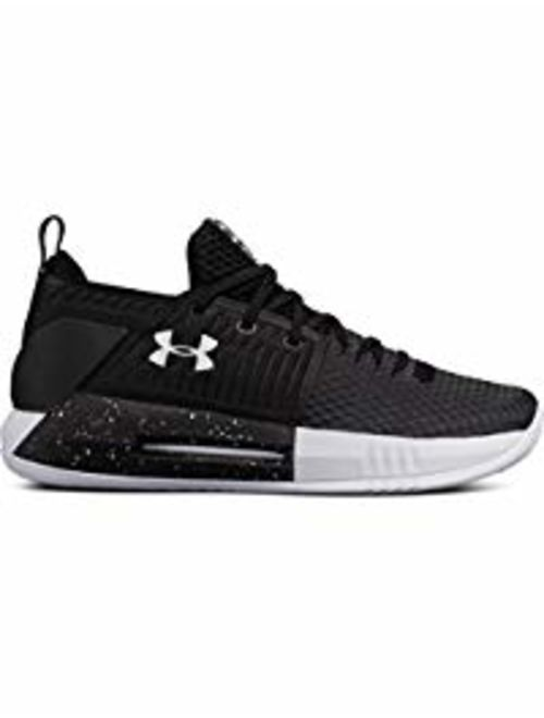 New Under Armour Men's Drive 4 Low Basketball Shoe Black/White size 7.5