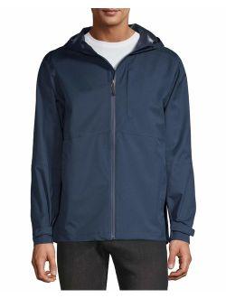 Swiss Tech Men's and Big Men's Rain Shell Jacket, up to Size 5XL