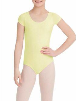 Girls' Classic Short Sleeve Leotard