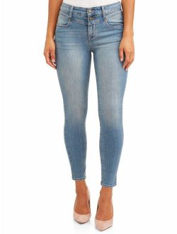 Sofia Jeans Rosa Curvy Seamed V Yoke High Waist Ankle Jean Women's