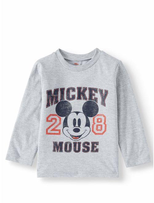 Disney Mickey Mouse Long Sleeve T-Shirt (Little Boys)