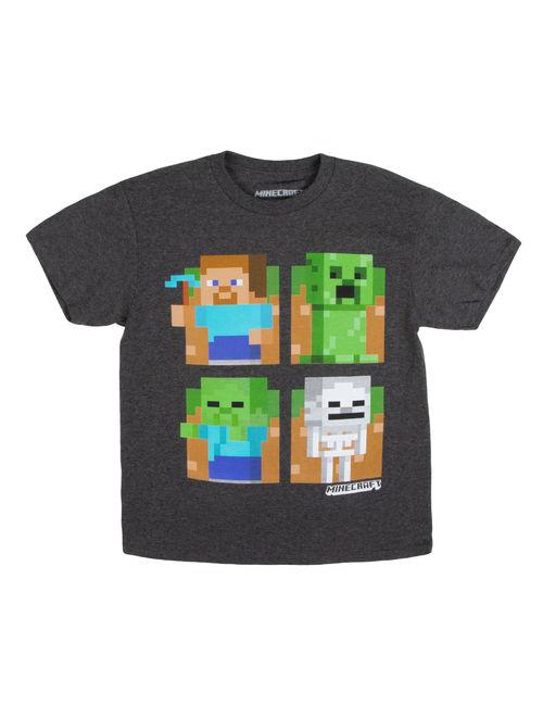 Minecraft Graphic Short Sleeve T-Shirt (Little Boys & Big Boys)