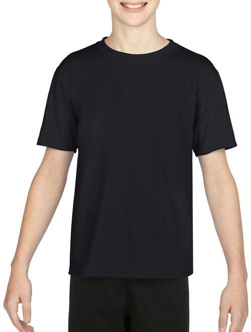 Gildan AquaFX Performance Kids Tagless Short Sleeve T-Shirt