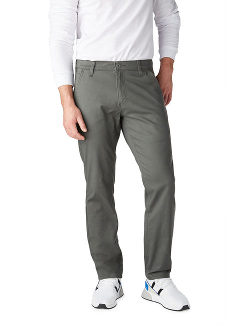 Signature by Levi Strauss & Co. Men's Athletic Hybrid Chino