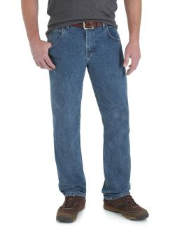 Rugged Wear Advanced Comfort Regular Straight Jean