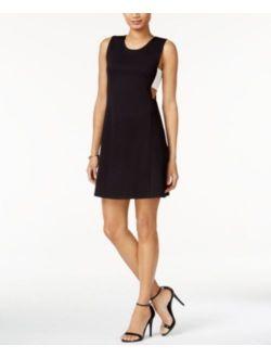 Women's Color-blocked Sleeveless Dress Size L