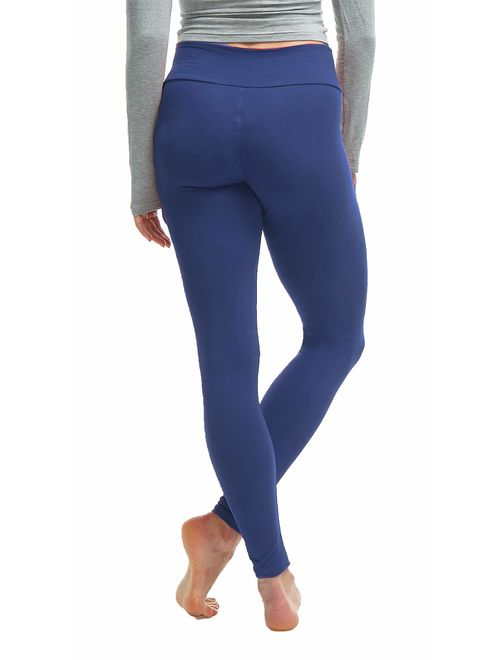 Luxurious Quality High Waisted Leggings for Women - Workout & Yoga Pants Plus