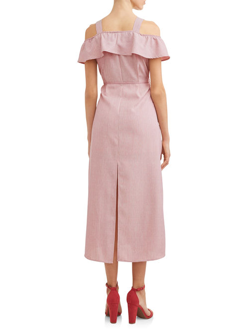 Women's Front Slit Maxi Dress