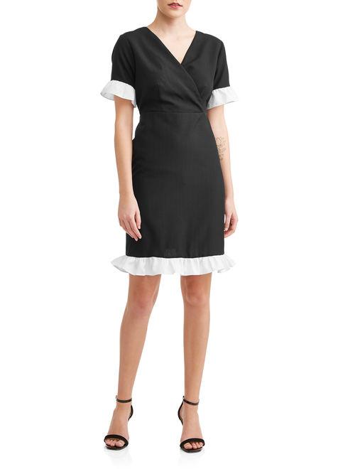 Love Sadie Women's Ruffle Detail Dress